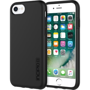 Incipio DualPro for iPhone 8-iPhone 7-& iPhone 6/6s - Black/Black - Incipio DualPro for iP