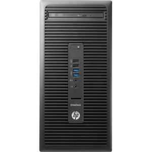 HP EliteDesk 705 G2 Desktop Computer | AMD A-Series A10-9700 3.50 GHz | 8 GB DDR4 SDRAM | 1 TB HDD | Windows 10 Pro 64-bit | Micro Tower