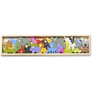 I1301 BeginAgain Toys Animal Parade A-Z Puzzle - Theme/Subject