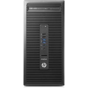 HP EliteDesk 705 G3 Desktop Computer | AMD A-Series A12-9800 3.80 GHz | 16 GB DDR4 SDRAM | 512 GB SSD | Windows 10 Pro 64-bit | Micro Tower