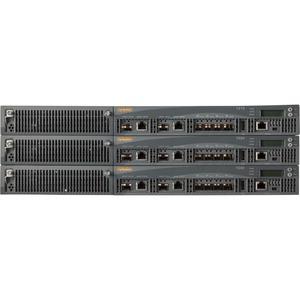 Aruba 7220DC Wireless LAN Controller - 2 x Network (RJ-45) - Gigabit Ethernet - Rack-mount