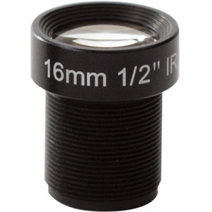 AXIS - 16 mm - Fixed Lens for M12-mount - Designed for Surveillance Camera - 0.1inDiamete