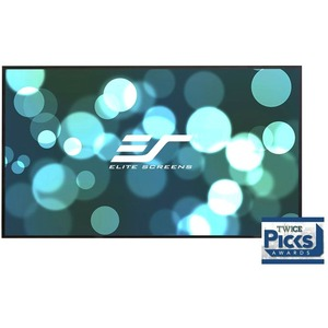 Elite Screens Aeon AUHD Series - 100-inch 16:9-4K Home Theater Fixed Frame EDGE FREE Borde