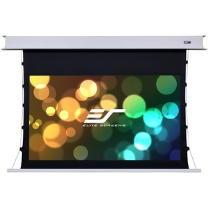 Elite Screens Evanesce Tab-Tension B - 92-Inch Diagonal 16:9-4K / 8K HD Ready-Recessed In-