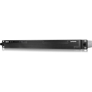 Lenovo ThinkServer RS160 70TG000KUX 1U Rack Server | 1 x Intel Xeon E3-1220 v5 Quad-core (4 Core) 3 GHz | 8 GB Installed DDR4 SDRAM | Serial ATA/600 Controller | 0, 1, 5, 10 RAID Levels | 1 x 300 W