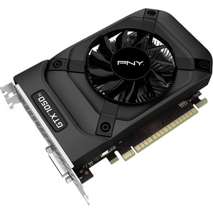 PNY GeForce GTX 1050 Ti Graphic Card | 1.29 GHz Core | 1.39 GHz Boost Clock | 4 GB GDDR5 | PCI Express 3.0 x16 | Dual Slot Space Required