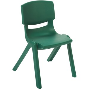 Pleasant Early Childhood Resources Ecr4Kids 12 Resin School Stack Chair Four Legged Base Green Polypropylene Resin Plastic 12 8 Width X 15 3 Depth X Gmtry Best Dining Table And Chair Ideas Images Gmtryco