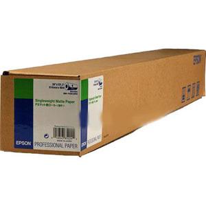 Epson Singleweight Matte - Paper - matte paper - Roll A1 (24 in x 131 ft) - 120