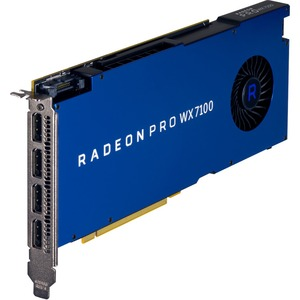 HP AMD Radeon Pro WX 7100 Graphic Card - 8 GB GDDR5 - 256 bit Bus Width - DisplayPort