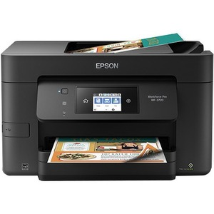 Epson WorkForce Pro WF-3720 Inkjet Multifunction Printer - Color - Plain Paper Print - Desktop C11CF24201