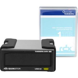 TANDBERG RDX EXTERNAL DRIVE KIT WITH 1TB BLACK USB3