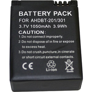 BTI Battery Pack - For Camera - Battery Rechargeable - 3.7 V DC - 1050 mAh - Lithium Ion (