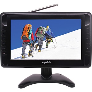 10IN WIDESCREEN LCD TV BUILT-IN DIGITAL TV TUNER BUILT-IN LITHIUM RECHARGEABLE B