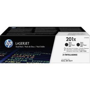 Toner Cartridge-HP 201X-2800 Page Yield Each-2/BX-Black
