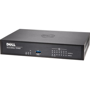 SonicWALL TZ400 Network Security/Firewall Appliance - 7 Port - 10/100/1000Base-T Gigabit Ethernet