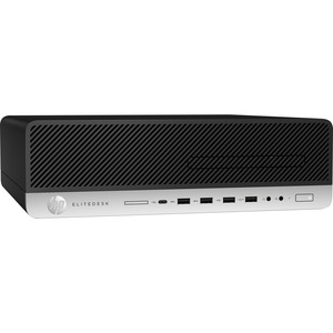HP EliteDesk 800 G3 Desktop Computer | Intel Core i7 (6th Gen) i7-6700 3.40 GHz | 8 GB DDR4 SDRAM | 256 GB SSD | Windows 7 Professional 64-bit (English) upgradable to Windows 10 Pro | Small Form Factor
