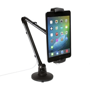 CTA Digital Mounting Arm for Tablet-Smartphone-iPad Air-iPhone - 10inScreen Support