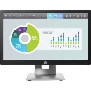 HP Business E202 20inHD+ LED LCD Monitor - 16:9 - Black-White - 1600 x 900 - 250 Nit - 7