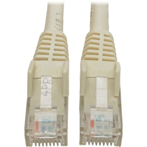 Tripp Lite 6ft Cat6 Snagless Molded Patch Cable UTP White RJ45 M/M 6'