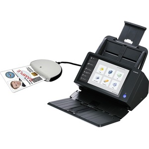 Canon ScanFront 400 CAC/PIV Sheetfed Scanner - 600 dpi Optical