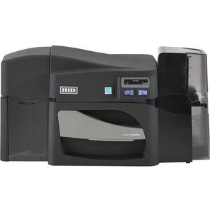 DTC4500e dual side printer with