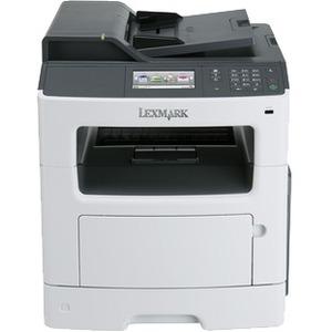 Lexmark MX417de Laser Multifunction Printer - Monochrome - Plain Paper Print - Desktop 35SC701