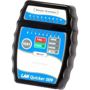 Monoprice Quick RJ-45 Network Cable Tester - Network Testing-Cable Testing - Network (RJ-4