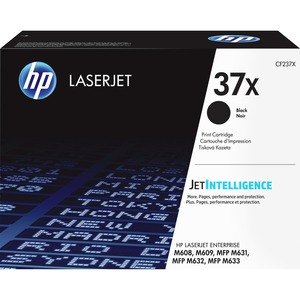 HP 37X (CF237X) HIGH YIELD BLACK ORIGINAL LASERJET TONER CARTRIDGE