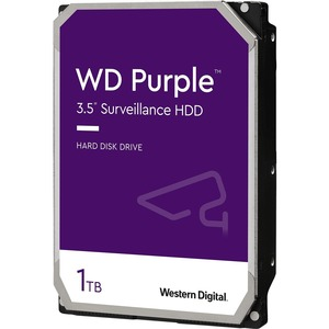 WD Purple 1TB Surveillance Hard Drive - Network Video Recorder Device Supported - 5400rpm