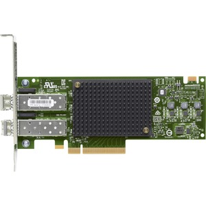 HPE StoreFabric SN1600E 32Gb Dual Port FC HBA - PCI Express 3.0 x8 - 32 Gbit/s - 2 x Total