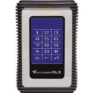 DataLocker DL3 4 TB Portable Solid State Drive - External - TAA Compliant - USB 3.0 - 256-