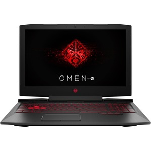 HP Omen 15-CE020CA 15.6in I7-7700HQ 2.8G 8GB 2TB W10HE Bilingual Gaming Laptop PC