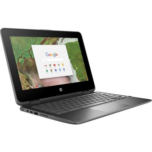 "HP Chromebook x360 11 G1 EE 11.6"" Touchscreen LCD 2 in 1 Chromebook - Intel Celeron N3350 Dual-core (2 Core) 1.10 GHz -"