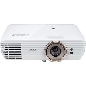 Acer V7850 DLP Projector - 16:9 - 3840 x 2160 - Front-Rear-Ceiling-Rear Ceiling - 4000 Hou