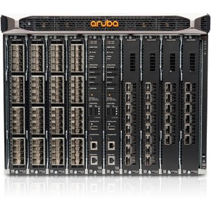 Aruba 8400 8-slot Chassis - Manageable - 3 Layer Supported - Modular - Optical Fiber - 8U