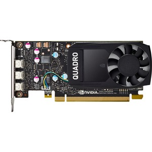 HP NVIDIA Quadro Graphic Card - 2 GB GDDR5 - Low-profile - 2 GHz Core - 64 bit Bus Width -