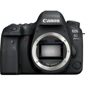 Canon EOS 6D Mark II 26.2 Megapixel Digital SLR Camera Body Only - 3inTouchscreen LCD - D