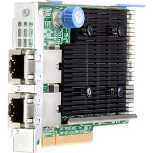 HPE Ethernet 10Gb 2-port 535FLR-T Adapter - PCI Express 3.0 x8 - 2 Port(s) - 2 - Twisted P