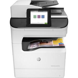 HP PageWide Enterprise 780dns Page Wide Array Multifunction Printer - Color - Plain Paper Print - Floor Standing
