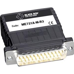 Black Box Serial/Terminal Block Data Transfer Adapter - 2 Pack - 1 x DB-25 Male Serial - 1