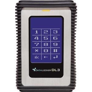 DataLocker DL3 2 TB External Solid State Drive - Portable - TAA Compliant