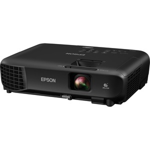 Epson PowerLite 1266 LCD Projector - 16:10 - 1280 x 800 - Rear-Ceiling-Front - 6000 Hour N