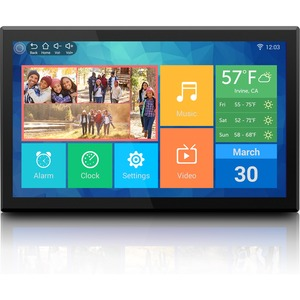 Aluratek 17.3 inch WiFi Digital Photo Frame - 17.3inLCD Digital Frame - 1920 x 1080 - Cab