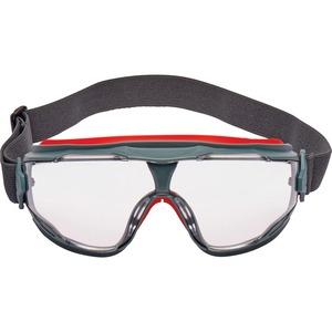 3M GoggleGear 500 Series Scotchgard Anti-Fog Goggles - Recommended for: Eye - Gray - 10 / Carton
