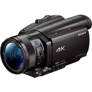 Sony Handycam FDRAX700 Digital Camcorder - 3.5inLCD Touchscreen - Exmor R CMOS - 4K - 16: