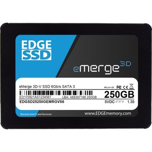 250GB 2.5 EMERGE 3D-V SSD - SATA 6GB/S