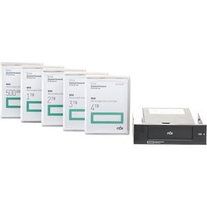 HPE 4 TB Hard Drive Cartridge - Internal - USB 3.0 - 3 Year Warranty