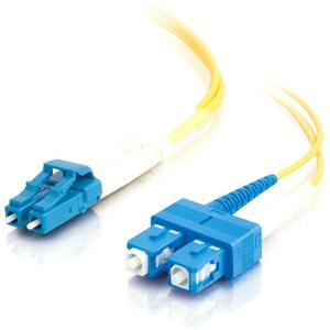Patch Cable - SC - Male - LC - Male - 3 M - Fiber optic - Yellow