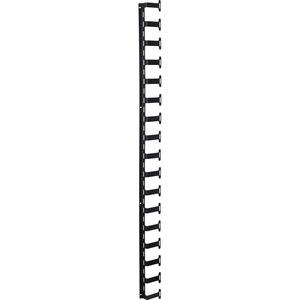 Belkin Finger Cable Manager - Black - 1 Pack - 42U Rack Height