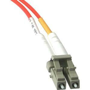 3m LC-SC 62.5/125 OM1 Duplex Multimode PVC Fiber Optic Cable | Orange
